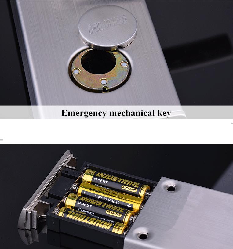 cerradura electronica de pilas
