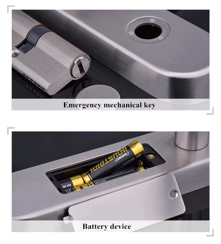 Pilas cerradura electrónica de codigo PIN IQ-STKB
