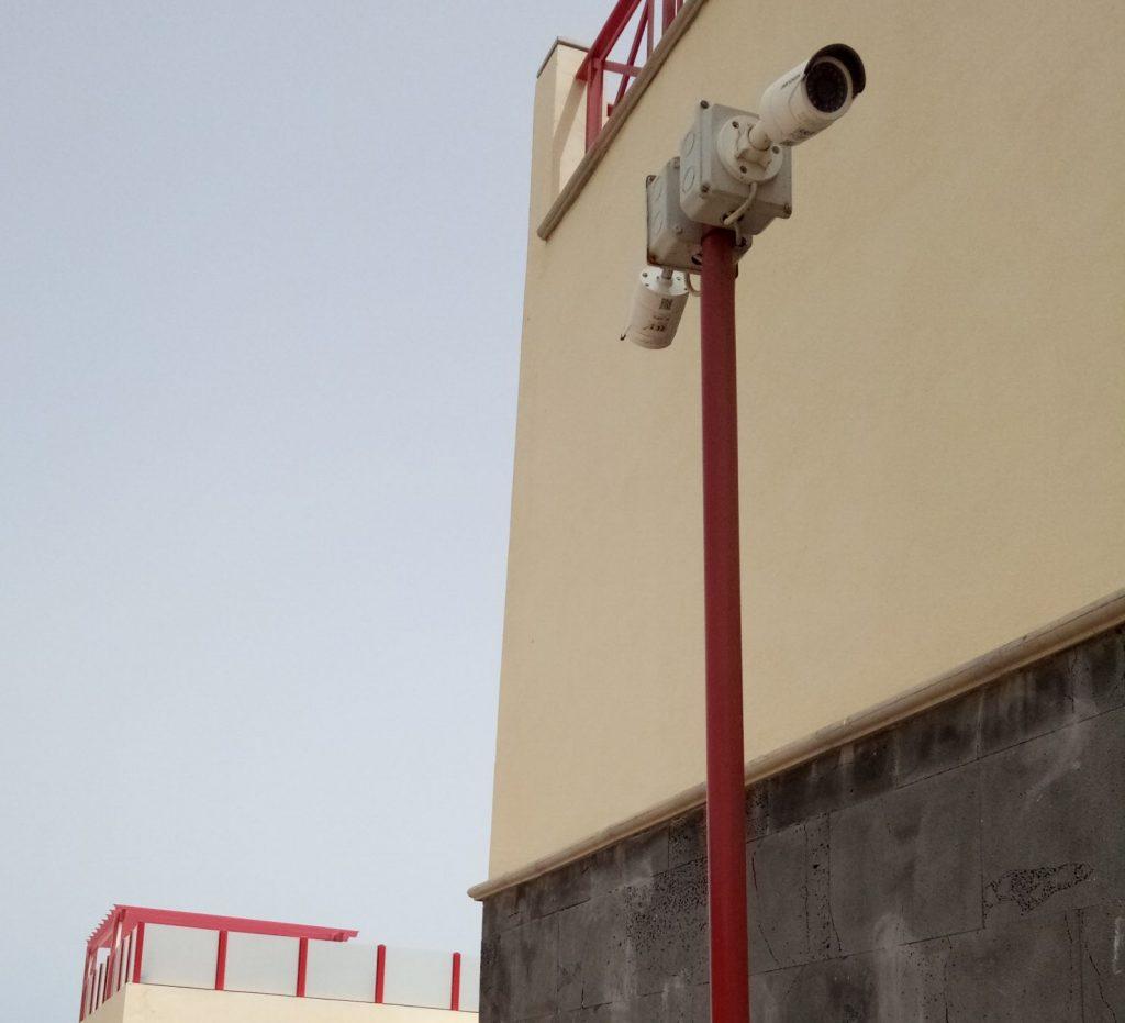 Camaras de vigilancia exteriores