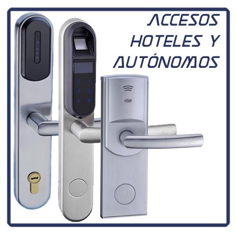 Control de acceso de hoteles y autónomos